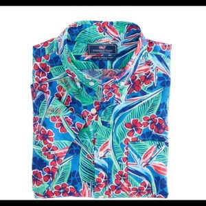 Vineyard Vines Laurel Hill Slim Murry Shirt Sm